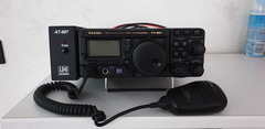 Yaesu FT 897 mit separatem AT 897