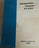 Instruction manual FT224