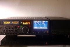 Yaesu FTDX-9000D (PEP + Yaesu SP-9000