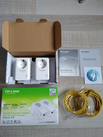TP-Link Powerline Adapter Starter Set TL-PA2010PKIT