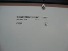 Induktivitätsmessbrücke RFT Modell 1024