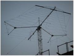 2x Log-Periodic HF Antenna des R & S HL471