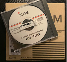 Icom-IP-Steuersoftware RS-BA1 Version 1.10