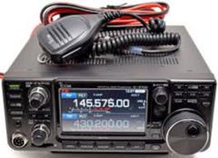 Icom Ic-9700 mit PS126 Netzteil und MX72-N Diplexer