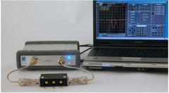 Skalarer Netzwerk Analyzer zum Betrieb am PC via USB, 75 Ohm, 2,5GHz
