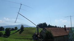 Stahlmast für schwere Antennenanlagen