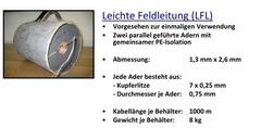 Suche Leichte Feldleitung  (DDR) Typ LFL. 1000 oder 200 Meter