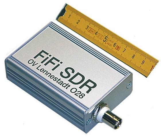 FiFi-SDR, fertig aufgebaut