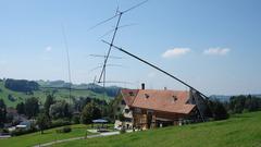 Antennenmast für grosse Antennen