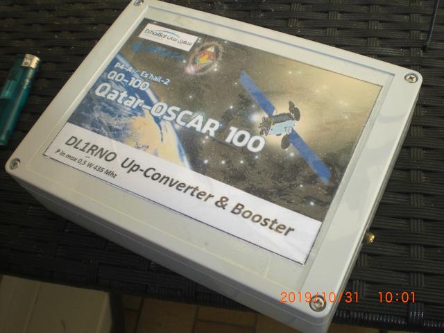 Amateurfunk Es`hail QO-100 uplink