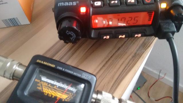 Maas AMT-9000 V/U 70cm Funkgerät in OVP