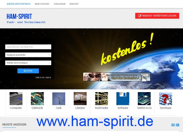 www.HAM-SPIRIT.de  ( Funk- und Technikmarkt )
