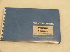 Manual für TEKTRONIX P6202 Probe (Aktiver FET-Tastkopf)