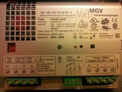 MGV Stromversorgung Power Supply PH520-2420 230V 24V 20A Netzteil unbenutzt OVP