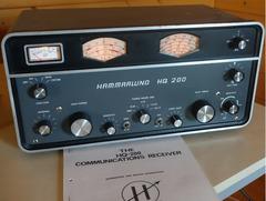 Hammarlund HQ - 200  Empfänger    mit Handbuch