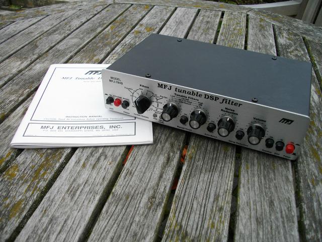 MFJ-784B abstimmbares DSP Filter