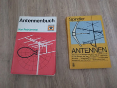"""Rothammel DDR-Ausgabe und Eberhard Spindler """"Antennen"""""""