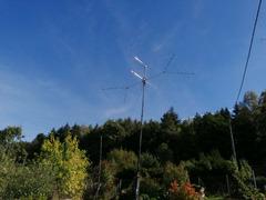 Antenne inkl. Mast